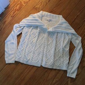 Cabi Off-White Cardigan Medium